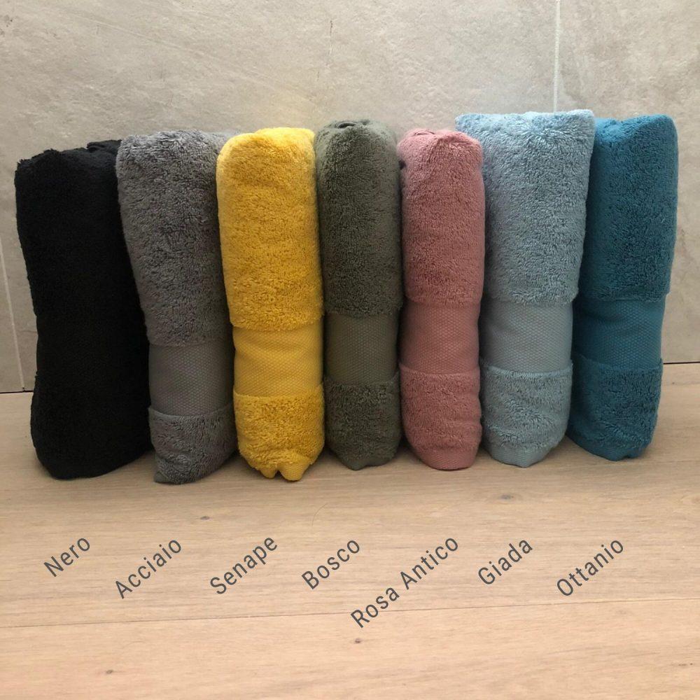Coppia Asciugamani Colori vari