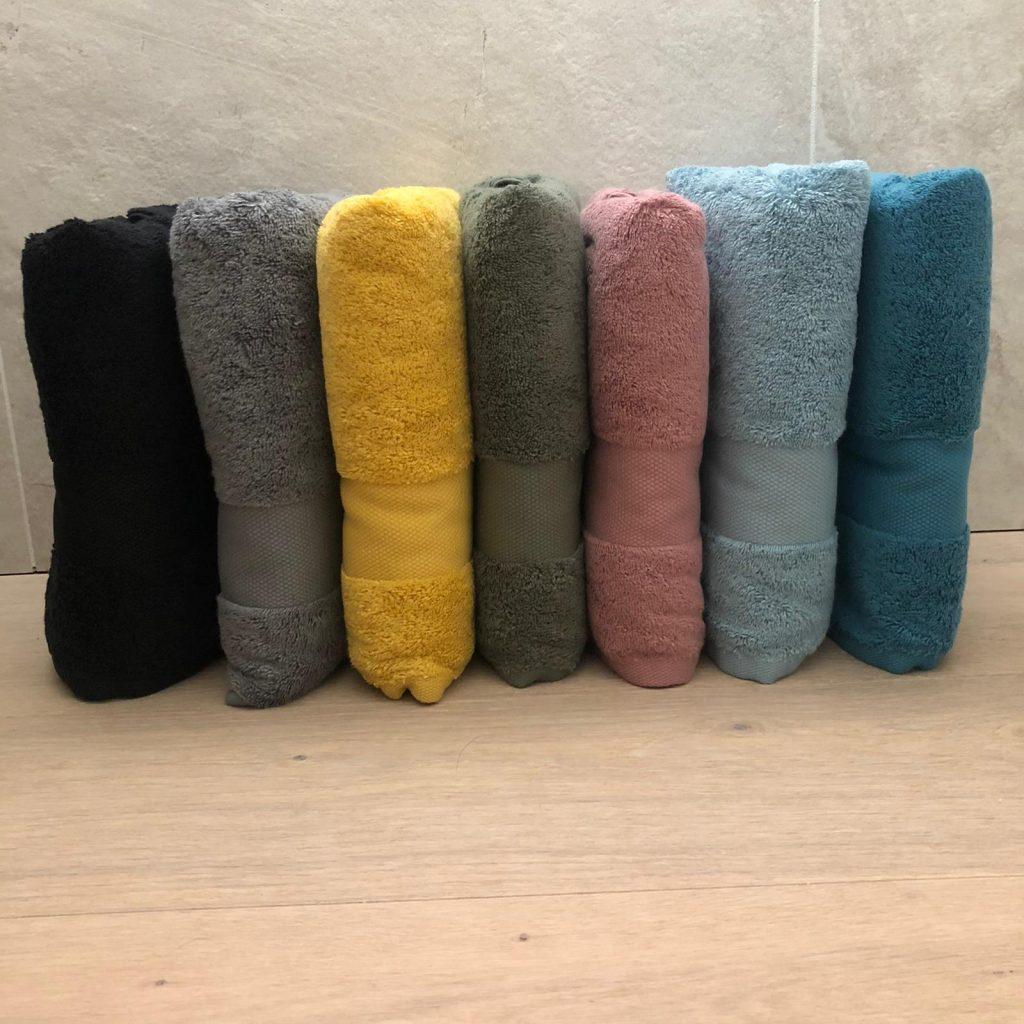 Asciugamani spugna Tinta unita