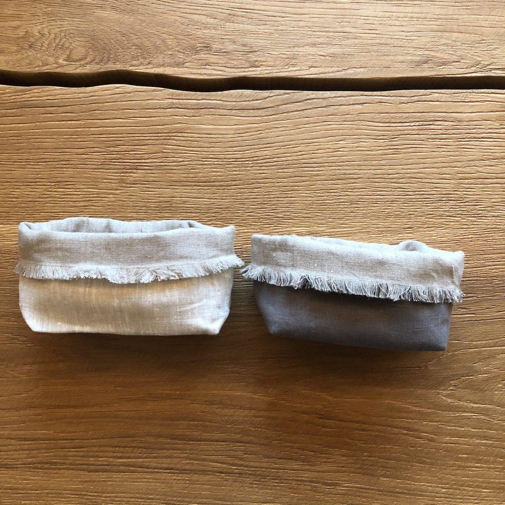 cestini porta pane lino