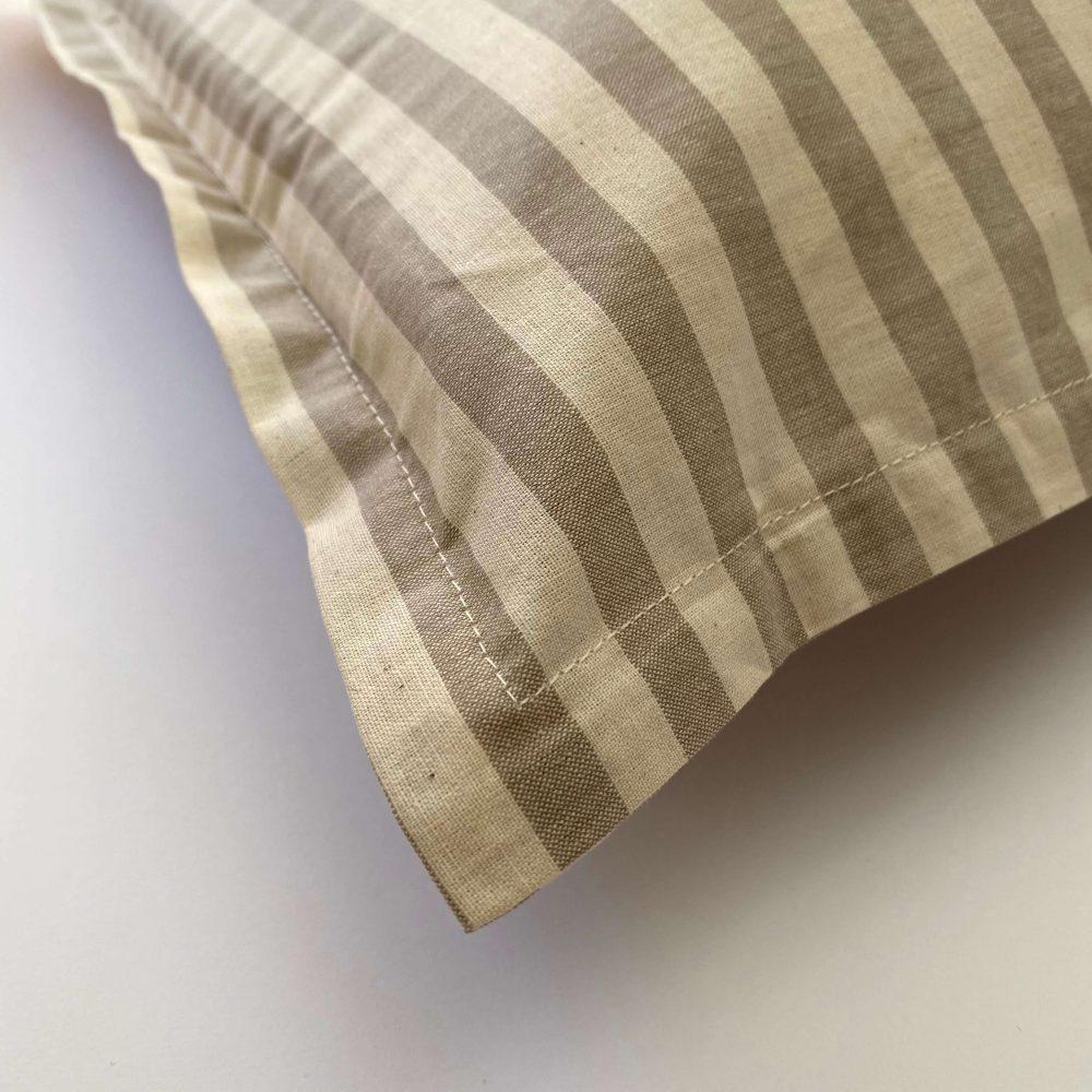 federe cotone tinto filo eolo beige